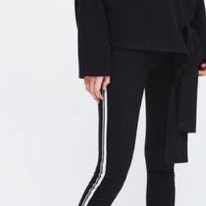 Zara Trafaluc Stripe Jeans